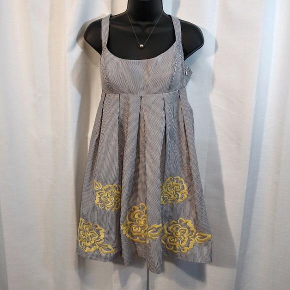 INC International Concepts Dresses & Skirts - INC Striped Sundress 8 petite
